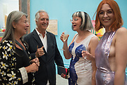 VICTORIA MIRO; WARREN, PHILIPPA PERRY; FLO PERRY, Royal Academy Summer Exhibition party. Burlington House. Piccadilly. London. 6 June 2018