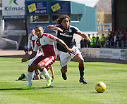 Dundee's Yordi Teijsse goes past Rangers' James Tavernier - Dundee v Rangers, Ladbrokes Scottish Premiership at Dens Park<br /> <br />  - © David Young - www.davidyoungphoto.co.uk - email: davidyoungphoto@gmail.com
