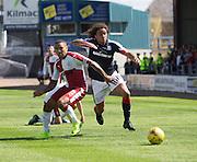 Dundee&rsquo;s Yordi Teijsse goes past Rangers' James Tavernier - Dundee v Rangers, Ladbrokes Scottish Premiership at Dens Park<br /> <br />  - &copy; David Young - www.davidyoungphoto.co.uk - email: davidyoungphoto@gmail.com