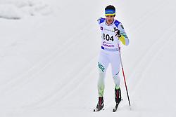de MORAES Thomaz Ruan, BRA, LW8 at the 2018 ParaNordic World Cup Vuokatti in Finland