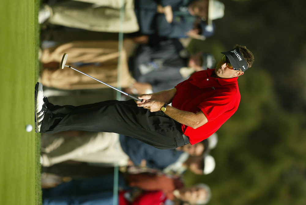Robert Allenby..2004 WGC Accenture World Match Play Championship.La Costa Resort & Spa.Carlsbad, CA.SECOND ROUND.Friday, February 27, 2004..Photograph by Darren Carroll