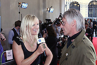 Jo Whiley and Paul Weller