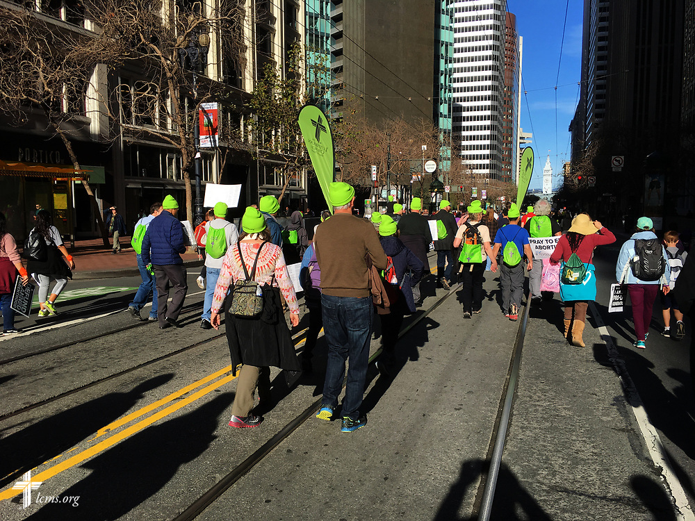 Photographs from the 2018 Walk for Life on Saturday, Jan. 27, 2018, in San Francisco. Photo Courtesy the Rev. Charles Fox