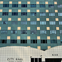 New City Hall Building in Anchorage, Alaska <br />