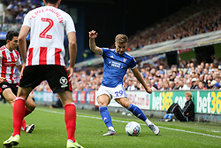 Luke Garbutt of Ipswich Town crosses the ball - Mandatory by-line: Arron Gent/JMP - 10/08/2019 - FOOTBALL - Portman Road - Ipswich, England - Ipswich Town v Sunderland - Sky Bet League One