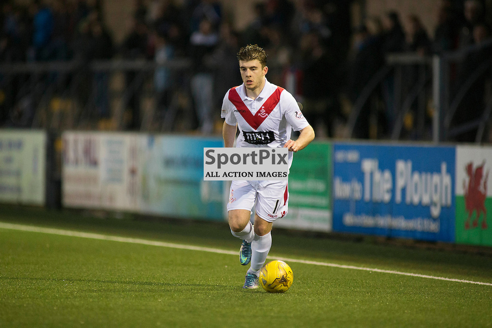 NIcky Cadden in the Forfar Athletic v Airdrie Station Park, Forfar, 07 November 2015<br />