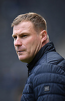 Football - 2018 / 2019 Sky Bet EFL League Two - MK Dons vs. Mansfield<br /> <br /> Mansfield Town manager David Flitcroft during the pre-match warm-up, at Stadium MK.<br /> <br /> COLORSPORT/ASHLEY WESTERN