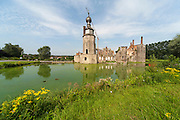 Chateau d'Havré, Wasserschloss, Mons, Wallonie, Belgien, Europa | Chateau d'Havré, moated castle, Mons, Hennegau, Wallonie, Belgium, Europe