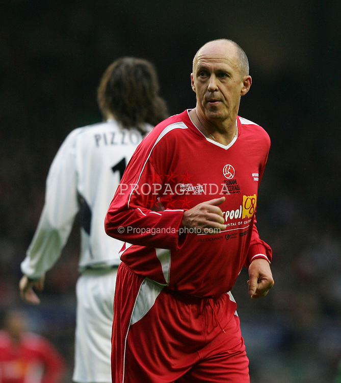 LIVERPOOL, ENGLAND - SUNDAY MARCH 27th 2005: Liverpool Legends' Phil Neal during the Tsunami Soccer Aid match at Anfield. (Pic by David Rawcliffe/Propaganda)