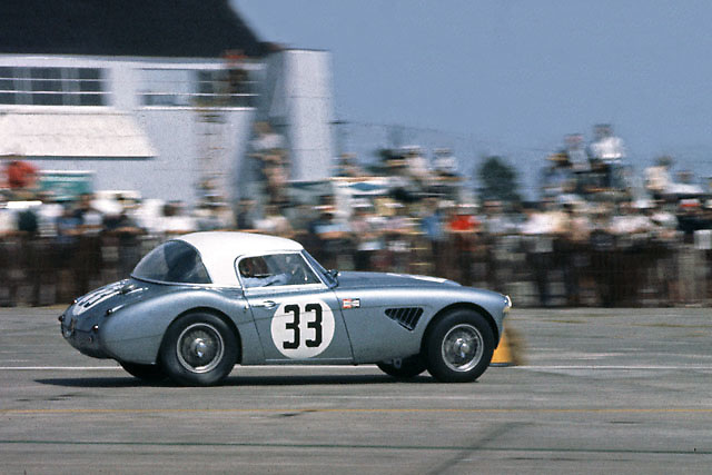 Austin Healey in 1964 Sebring 12-hr race