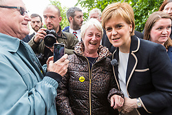 Nicola Sturgeon gathered activists together in Leith for a final rallying call for the General Election.