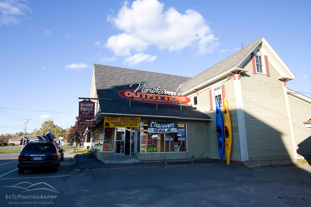 Northwoods Outfitters in Greenville Maine USA
