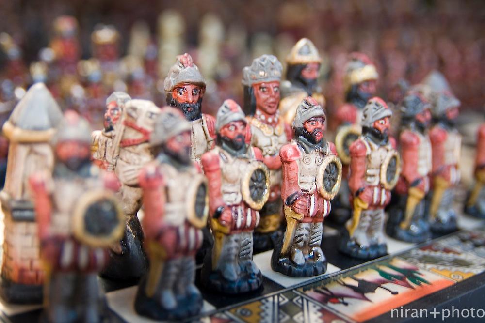Peruvian Chess Pieces, Cuzco, Peru