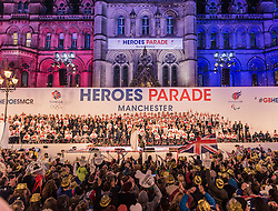 National Olympic Heroes Parade in Manchester<br /> <br /> (c) John Baguley | Edinburgh Elite media