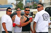 Group of Latin Rockabillies. Viva Las Vegas weekend. USA 2006