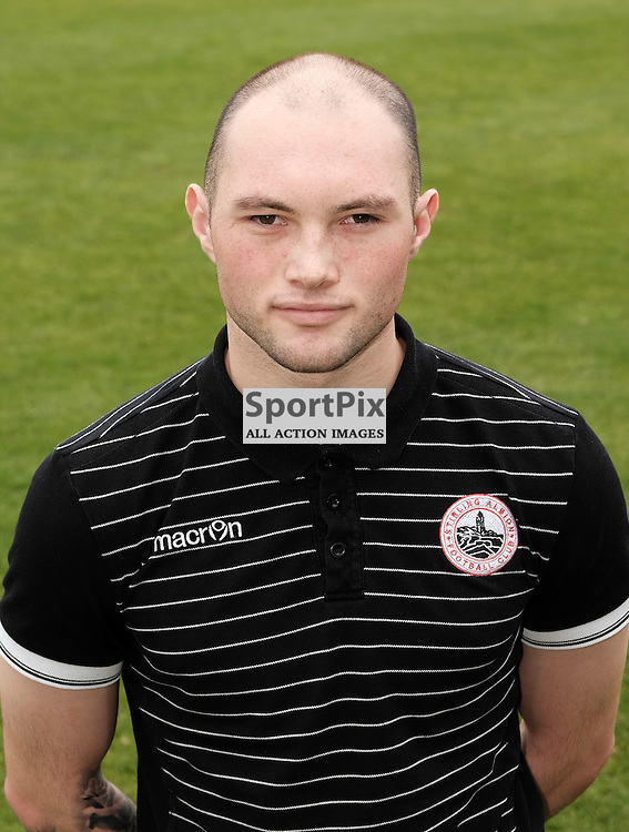 David Verlaque (Stirling Albion)<br /> <br /> Stirling Albion v Queen's Park, SPFL League 2, 26th September 2015<br /> <br /> (c) Alex Todd | SportPix.org.uk