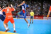 DESCRIZIONE : France Tournoi international Paris Bercy Equipe de France Homme France Islande 17/01/2010<br /> GIOCATORE : Narcisse Daniel<br /> SQUADRA : France<br /> EVENTO : Tournoi international Paris Bercy<br /> GARA : France Islande<br /> DATA : 17/01/2010<br /> CATEGORIA : Handball France Homme Action <br /> SPORT : HandBall<br /> AUTORE : JF Molliere par Agenzia Ciamillo-Castoria <br /> Galleria : France Hand Homme 2009/2010  <br /> Fotonotizia : France Tournoi international Paris Bercy Equipe de France Homme France Islande 17/01/2010 <br /> Predefinita :