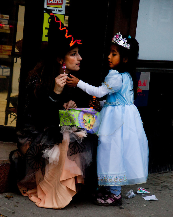 Wicked Witch of the West. Taken at the Halloween Day Parade in Park Slope, Brooklyn.