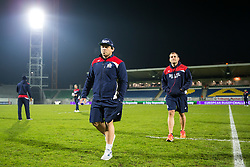 Gaston Cortes checks out the pitch as Bristol Rugby arrive at the stadium - Rogan Thomson/JMP - 16/12/2016 - RUGBY UNION - Stade du Hameau - Pau, France - Pau v Bristol Rugby - EPCR Challenge Cup.