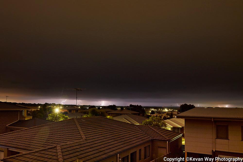 suburban electrical storm