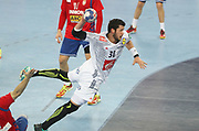Nicolas Tournat (France) during the EHF 2018 Men's European Championship, 2nd Round, Handball match between Serbia and France on January 22, 2018 at the Arena in Zagreb, Croatia - Photo Laurent Lairys / ProSportsImages / DPPI