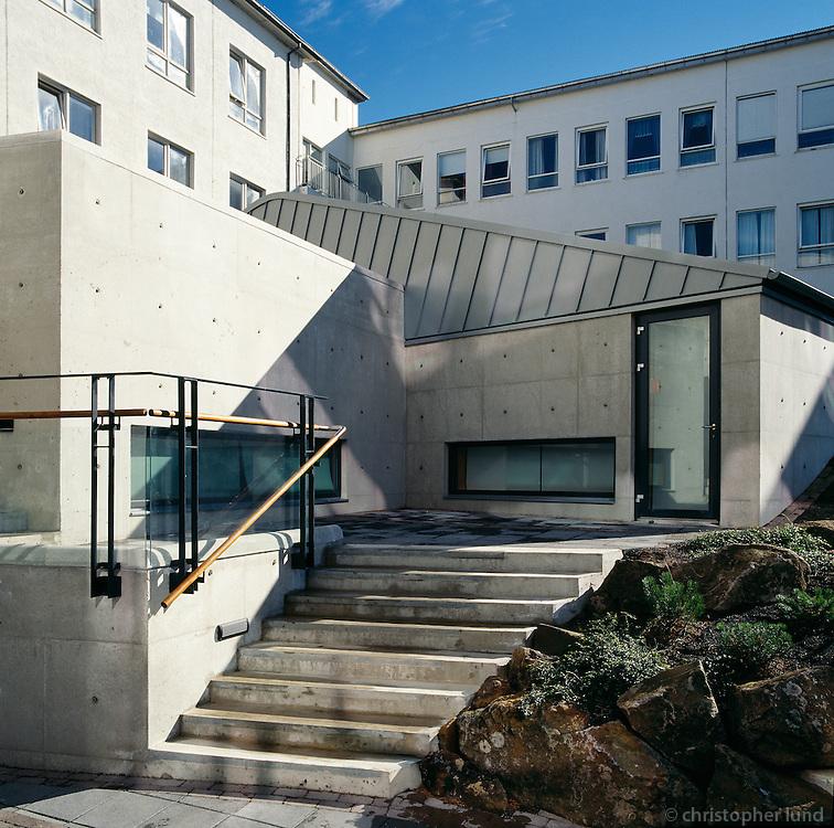 Barnaspítali Hringsins, Landspítali Háskólasjúkrahús..Hringur Childrens Hospital in Reykjavik, Iceland.