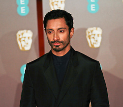 Riz Ahmedon the red carpet ahead of the 2019 British Academy Film Awards at the Royal Albert Hall in London, England on 10th Feburary 2019. ©Ben Booth/Edinburgh Elite media