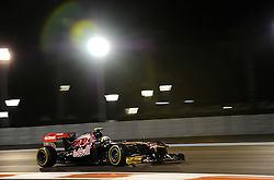 11.11.2011, Yas-Marina-Circuit, Abu Dhabi, UAE, Grosser Preis von Abu Dhabi, im Bild Jaime Alguersuari (ESP), Scuderia Toro Rosso  // during the Formula One Championships 2011 Large price of Abu Dhabi held at the Yas-Marina-Circuit, 2011-11-11. EXPA Pictures © 2011, PhotoCredit: EXPA/ nph/ Dieter Mathis..***** ATTENTION - OUT OF GER, CRO *****