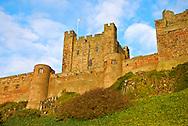 Bamburgh Castle - Bamburgh, Northumberland, England, United Kingdom of Great Britain