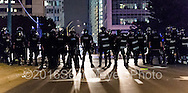 September 22, 2016 - Charlotte, NC, USA - during a third day of protests in Charlotte, North Carolina on Thursday, Sept. 22, 2016. This is the third day of protests that erupted after a police officer's fatal shooting of an African-American man Tuesday afternoon and the first full day of a declared State of Emergency by the governor. (Credit Image: © Sean Meyers/ZUMA Press)
