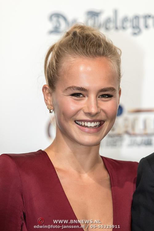 NLD/Hilversum/20190902 - Voetballer van het jaar gala 2019, AnneKee Molenaar