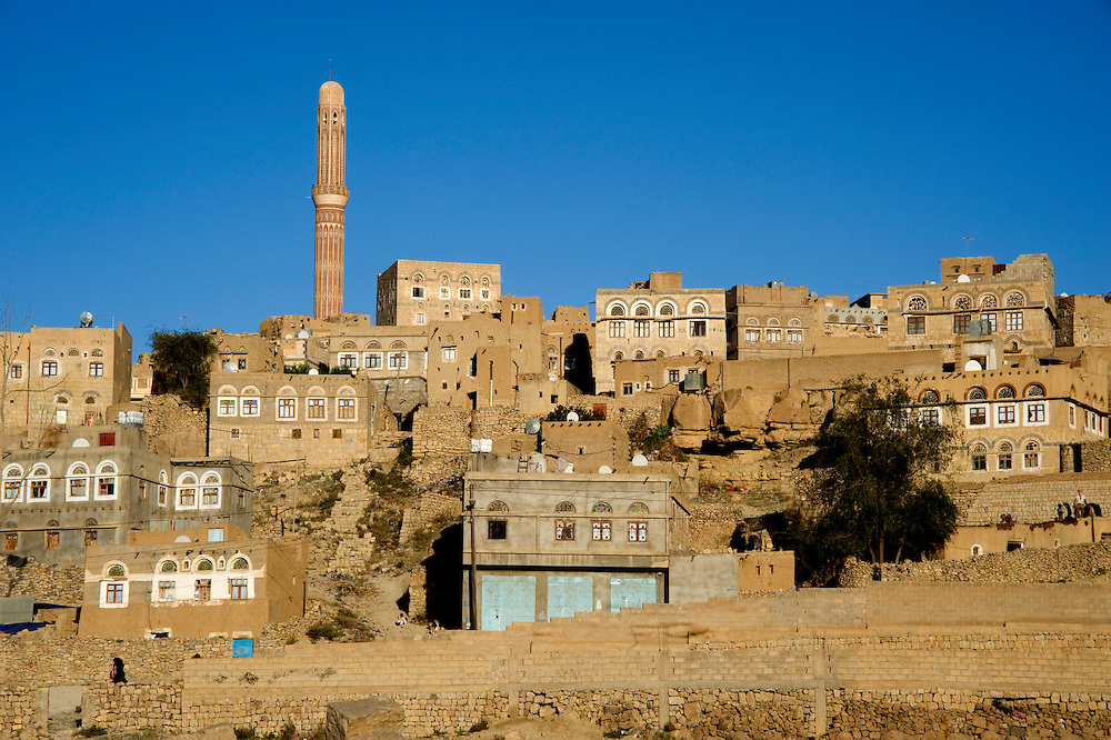 View of Khamir, the old town.