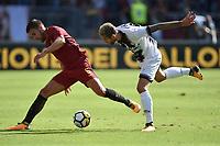 Kevin Strootman Roma, Valon Behrami Udinese <br /> Roma 23-09-2017 Stadio Olimpico Calcio Serie A 2017/2018 AS Roma - Udinese Foto Andrea Staccioli / Insidefoto