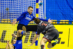 Ferlin Klemen of RK Celje Pivovarna Lasko during handball match between RK Celje Pivovarna Lasko (SLO) and SG Flensburg Handewitt (GER) in 3rd Round of EHF Men's Champions League 2018/19, on September 30, 2018 in Arena Zlatorog, Celje, Slovenia. Photo by Grega Valancic / Sportida