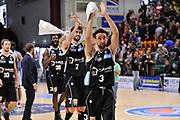 DESCRIZIONE : Campionato 2015/16 Serie A Beko Dinamo Banco di Sardegna Sassari - Dolomiti Energia Trento<br /> GIOCATORE : Giuseppe Poeta Davide Pascolo<br /> CATEGORIA : Ritratto Esultanza Postgame <br /> SQUADRA : Dolomiti Energia Trento<br /> EVENTO : LegaBasket Serie A Beko 2015/2016<br /> GARA : Dinamo Banco di Sardegna Sassari - Dolomiti Energia Trento<br /> DATA : 06/12/2015<br /> SPORT : Pallacanestro <br /> AUTORE : Agenzia Ciamillo-Castoria/C.Atzori