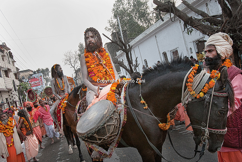 Kumbh Mela is one of the largest human congregations of faith on the Earth. Legend has it that in the mythological times, during a waging war between the demigods and demons for the possession of elixir of eternal life, a few drops of it had fallen on to four places that are today known as Prayag (Allahabad), Haridwar, Ujjain, and Nasik.<br />