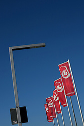 GERMANY HAMBURG 6SEP13 - Concourse outside Hamburg Airport during a sunny day.<br /> <br /> <br /> <br /> jre/Photo by Jiri Rezac<br /> <br /> <br /> <br /> © Jiri Rezac 2013