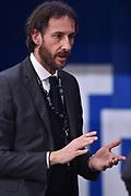 Coldebella Claudio<br /> Dolomiti Energia Trento - Openjobmetis Varese<br /> Legabasket serie A 2017/2018<br /> Trento,  10/03/2018<br /> Foto GiulioCiamillo / Ciamillo-Castoria