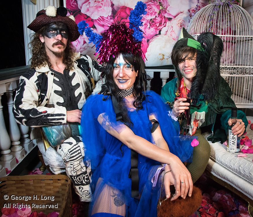 Mardi Gras portraits at Stacy Hoover's Wonderland, 2018