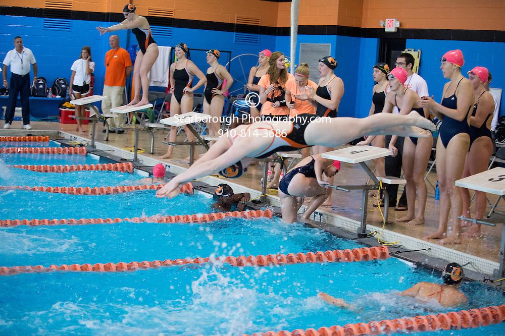 2014 Campbell University Swim Team