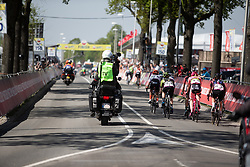 The front group during the Amstel Gold Race - Ladies Edition - a 126.8 km road race, between Maastricht and Valkenburg on April 21, 2019, in Limburg, Netherlands. (Photo by Balint Hamvas/Velofocus.com)