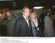 Tara Gramophone Getty & Jessicaa Getty. Jean-Paul Getty party. Cafe de Paris, Leicester Sq. London.6/3/97. Film 97136f36<br />