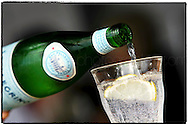 Copyright JIm Rice ©2013.Sparkling mineral water,