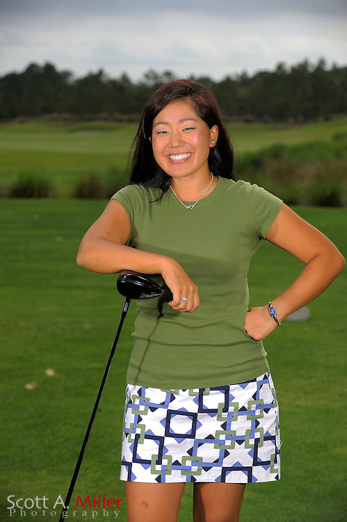 March 31, 2009, Daytona Beach, Fla: Jenny Suh of the Duramed Futures Tour Performance Team during a portrait session at LPGA International...© 2009 Scott A. Miller