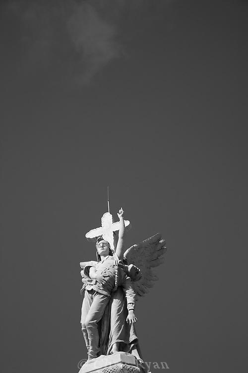 Monument to the Firemen, Christopher Columbus Cemetery (Necropolis Cristobal Colon), Havana, Cuba