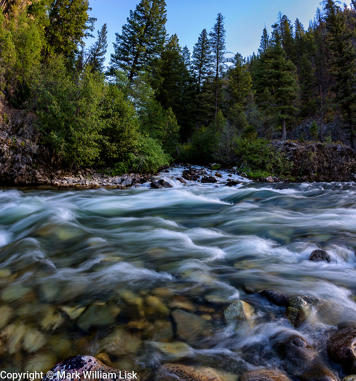Soilder Creek flows into the Middle Fork of the Salmon River at the Joe Bump Camp.