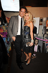 STEPHEN BOWMAN and HOFIT GOLAN at the Inspiration Awards For Women held at Cadogan Hall, Sloane Terrace, London on 6th October 2010.