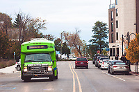 Downtown Streets (Hall Street) in Traverse City Michigan on October 14, 2018 (Gary L Howe)