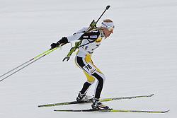 11.12.2010, Biathlonzentrum, Obertilliach, AUT, Biathlon Austriacup, Sprint Lady, im Bild Terezia Poliakova (SVK, #76). EXPA Pictures © 2010, PhotoCredit: EXPA/ J. Groder