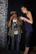 SAMANTHA COLE; LUCY VICTORIA-BIRD,  Action Aid UK - charity fashion show - celeb update<br />Crystal Club, 78 Wells Street, London,  *** Local Caption *** -DO NOT ARCHIVE-© Copyright Photograph by Dafydd Jones. 248 Clapham Rd. London SW9 0PZ. Tel 0207 820 0771. www.dafjones.com.